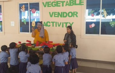 VEGETABLE VENDOR ACTIVITY